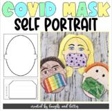 COVID-19 Coronavirus Self-Portrait Activity Worksheet with