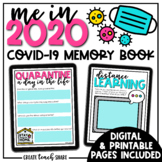 COVID-19 Memory Book | Google Slides & Printable Pages | D