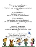 COVID-19 PRE-K Graduation poem