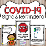 COVID-19 Posters & Reminders
