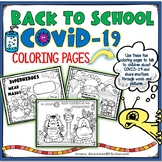 COVID-19 - Return to School - Coloring Pages-1