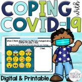 COVID-19 Safety Coping Skills Posters Printable Digital Di