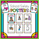 COVID 19 School Safety Posters