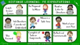 COVID-19 Visual Series- Distance Learning- PE Expectations