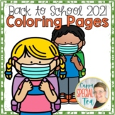 COVID Back to School 2021 Coloring Pages