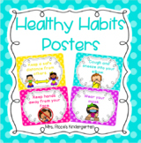 COVID Safety Rules | Healthy Habits Posters (Polka Dot)