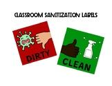 COVID Sanitization Labels