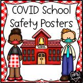 COVID School Safety Posters  {Coronavirus Bulletin Board}