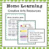 COVID19 Distance Learning - Creative Arts (Visual Art, Drama, Music, Dance)
