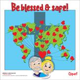 Be Blessed & Safe! #distancelearningTPT