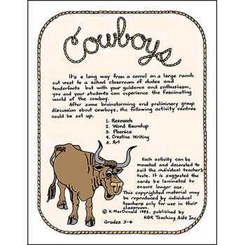 COWBOYS Gr. 3-4