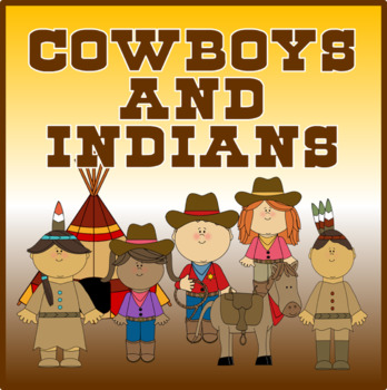 COWBOYS & INDIANS ROLE PLAY -S HISTORY EARLY YEARS KEY STAGE 1-2 E