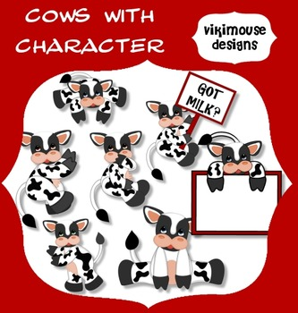 COWS WITH CHARACTER