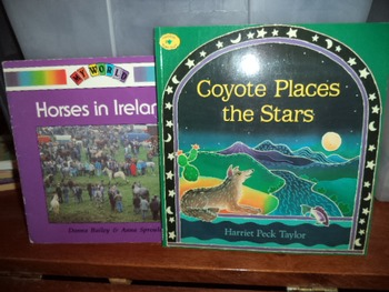 COYOTE PLACES   HORSES IN IRELAND  (SET OF 2)