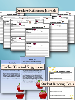 Comprehension Questions and Journaling - Great for Self-Selected Reading!