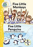Five Little Monkeys and Five Little Penguins (eBook)