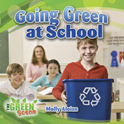 Going Green at School (eBook)