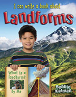 I can write a book about landforms (eBook)