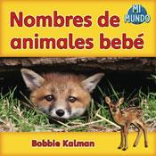 Nombres de animales bebé