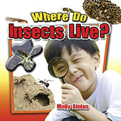 Where do insects live? (eBook)