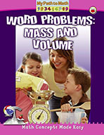 Word Problems: Mass and Volume (eBook)