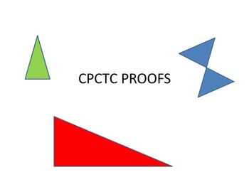CPCTC Proofs