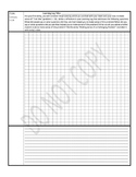 CPM 6th Grade Core Connections Learning Logs Template