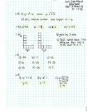 CPM-CCA Algebra Chapter 1 Homework Answer Keys
