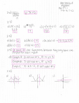 Cpm Homework Answers Algebra 1 Chapter 3 | All About Home
