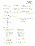 CPM CCA Algebra Chapter 3 Homework Answer Keys