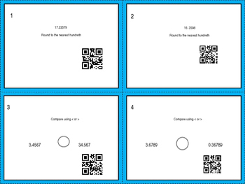 CPM Check Point 1 Task Cards Course 1