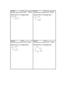 CPM Geometry Chapter 3 Homework Quick Checks