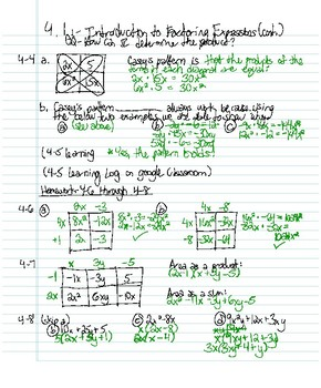 CPM Int. II HW VIDEO - Section 4.1.1