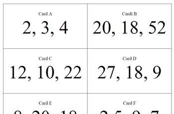 CPM Int II Section 1-3-4 Triangle Inequality Card Sort Activity
