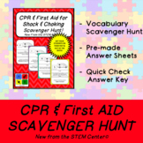 CPR & First AID Scavenger Hunt