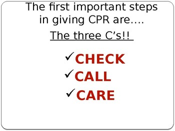 CPR, First Aid, and AED