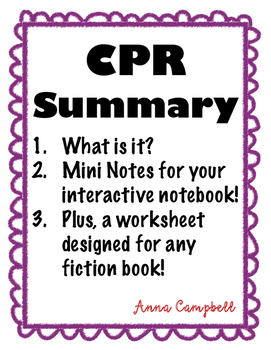 CPR Summary