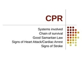 CPR power point