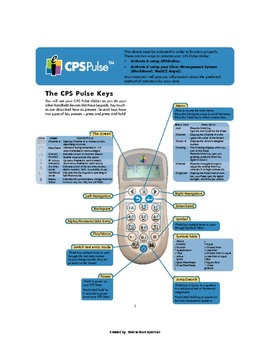 CPS Clicker Directions