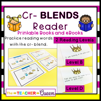 CR- Blend Readers Levels B and D (Printable and Projectable Books)