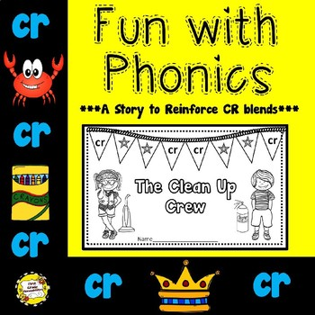 CR Blend: The Clean Up Crew (Booklet/Story)