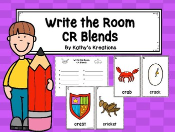 CR Blends  Write The Room