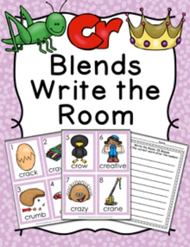 CR Blends Write the Room Activity