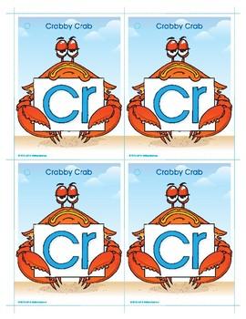 CR (Crabby Crab) Blend Buddy Card