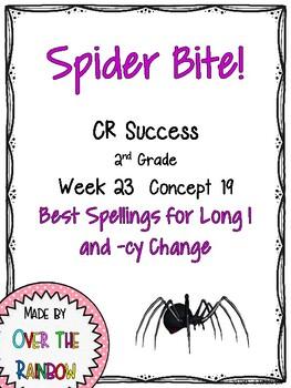 CR Success 2nd Grade Week 23 Spider Bite! A Long I Game