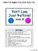 CR Success 2nd Grade Week 28 Don't Lose your Buttons! A Scribal O Game