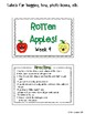CR Success 2nd Grade Week 9 Rotten Apples!  Prefixes and Ending Syllables Game