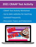2020 CRAAP Test Activity (DOC) - Frequently updated! Stem, Design, Research