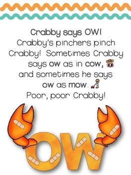 OW! OW!   CRABBY SAYS OW AND OW!