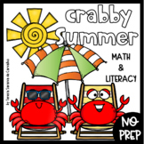 CRABBY SUMMER REVIEW PACKET- NO PREP